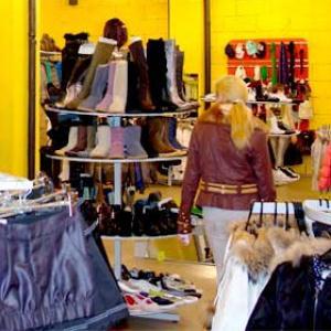 Магазины одежды и обуви Спас-Деменска